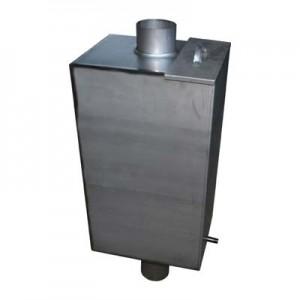 Бак для воды нерж. на печь-50л дымоход ф115мм