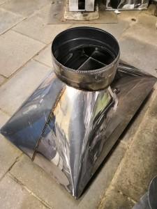 Зонт вытяжной дымоход для барбекю-очага